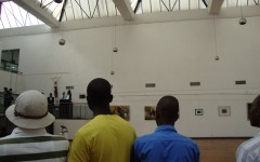 Harare art gallery, Zimbabwe